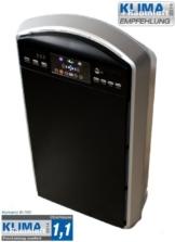 HEPA Luftreiniger B-785 mit Luftsensor, Ionisator, Ozon & Schlafzimmer-Funktion -