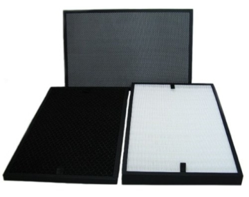 Filtersatz für Luftreiniger B-783 B-785 B-H03 (HEPA-Filter, Aktivkohlefilter, Kohlefaser- und Fotokatalysator-Filter) -